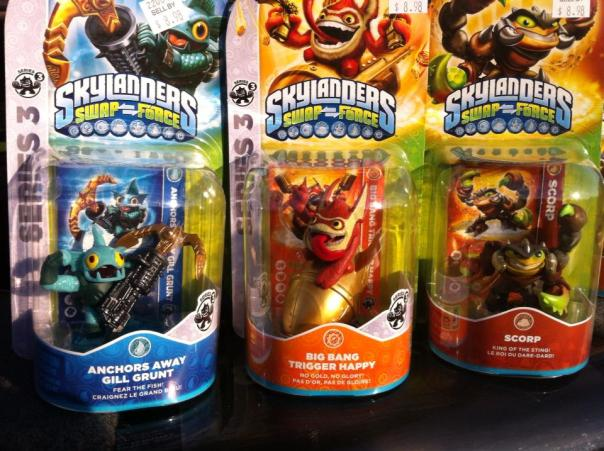 Wave 2 (ANCHORS AWAY GILL GRUNT, BIG BANG TRIGGER HAPPY, AND SCORP)