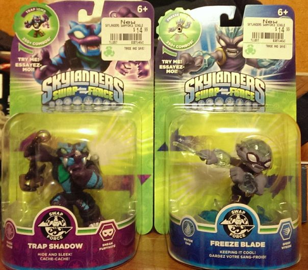 Wave 4 Trap Shadow and Freeze Blade