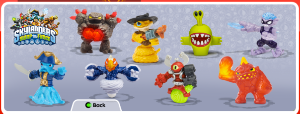 Swap Force McDonald's Happy Meal Toys
