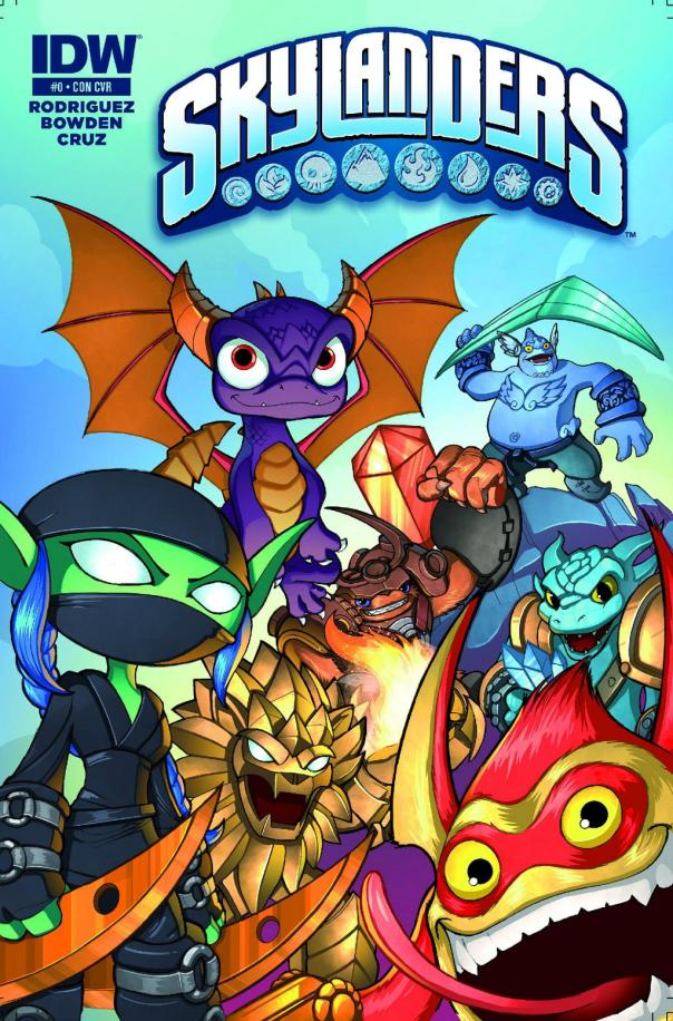Skylanders-Comic-book-variant-cover-2