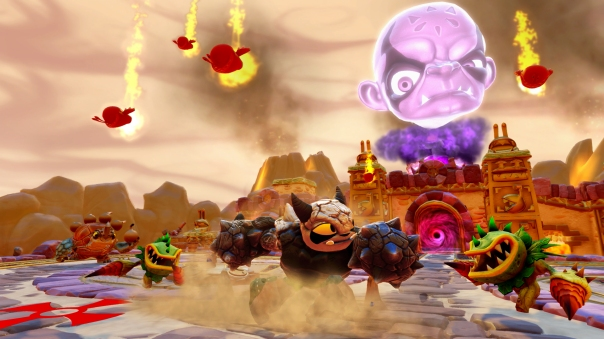 Skylanders Trap Team_Kaos Mode_Fist Bump