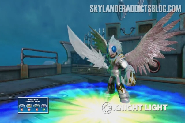 Light Element Trap Master Skylander