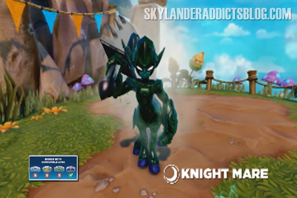 Dark Element Trap Master Skylander