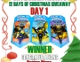 And The Winner Is… 12 Days of Christmas Giveaway Winners Announced