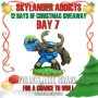 Skylander Addicts 12 Days of Christmas Giveaway-Day7