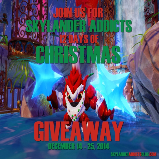 Skylander Addicts Christmas Ad